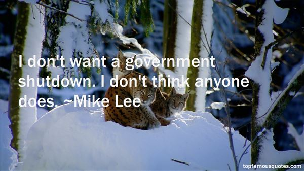 Quotes About Shut Down