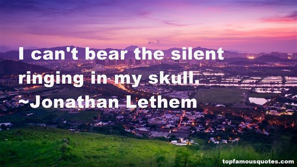 Quotes About Skull