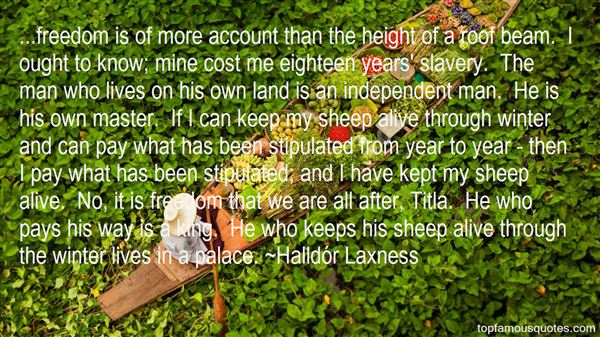 Quotes About Slavery And Freedom