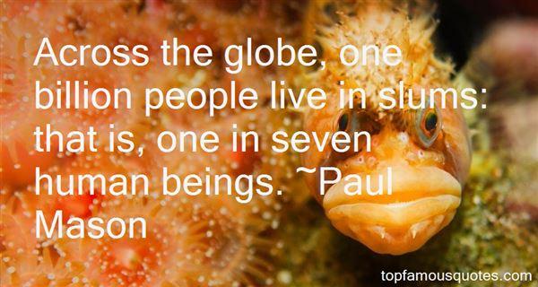 Quotes About Slum