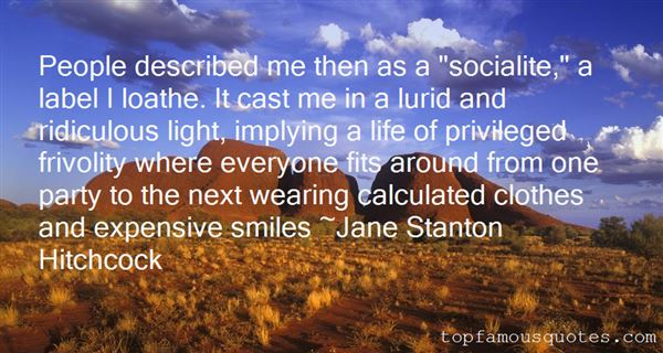 Quotes About Socialite