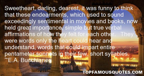 Quotes About Sonnets