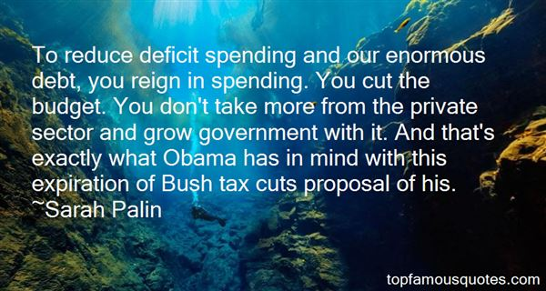 Quotes About Spending Cuts