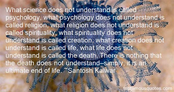 Quotes About Spirituality And Death