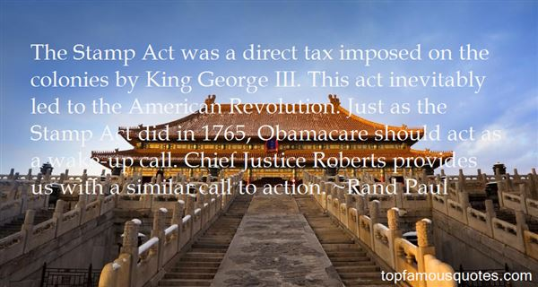 Quotes About Stamp Act