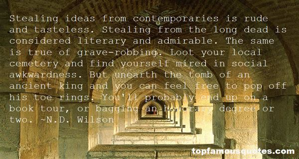 Quotes About Stealing Ideas