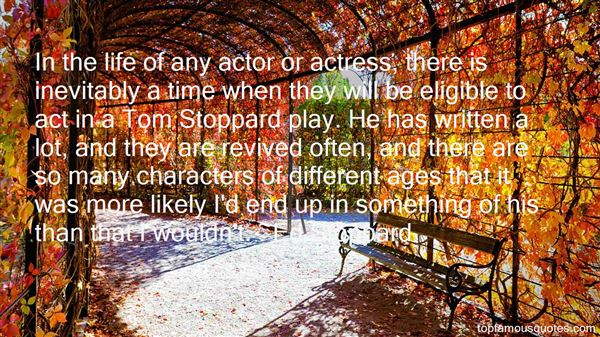 Quotes About Stoppard