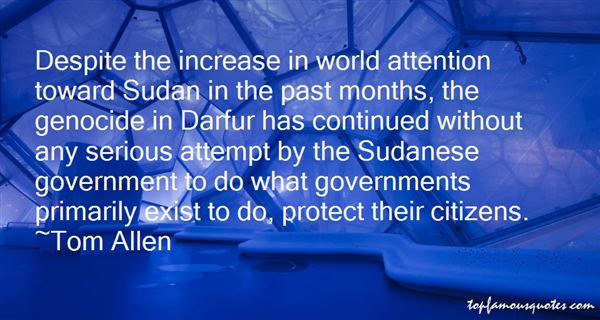Quotes About Sudan Genocide