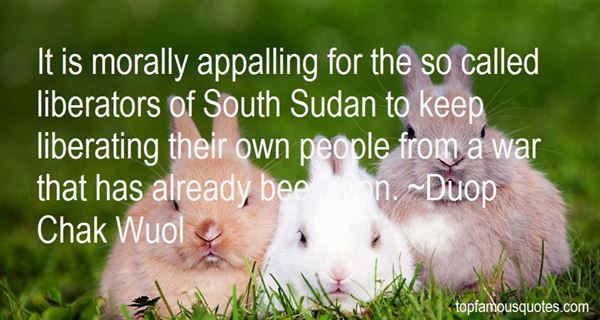 Quotes About Sudan War