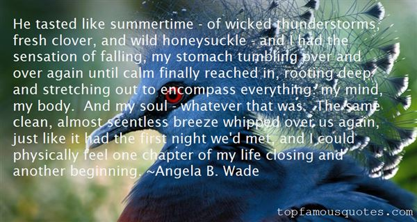 Quotes About Summer Thunderstorms