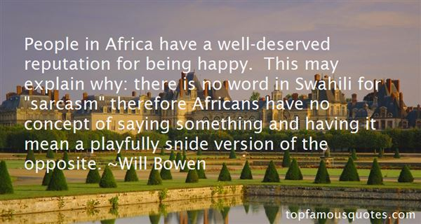 Quotes About Swahili