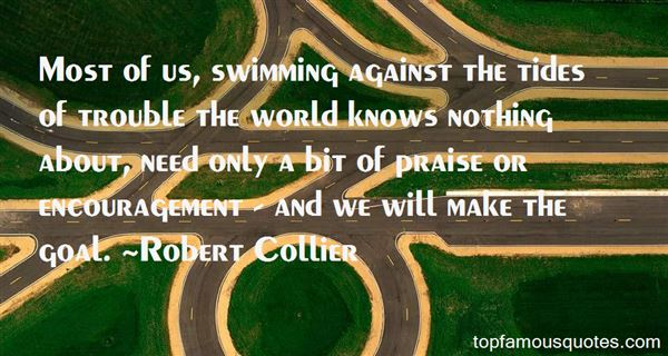 Quotes About Swimming Against The Tide