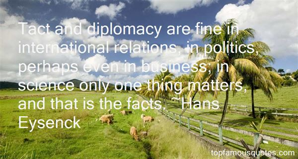 Quotes About Tact And Diplomacy
