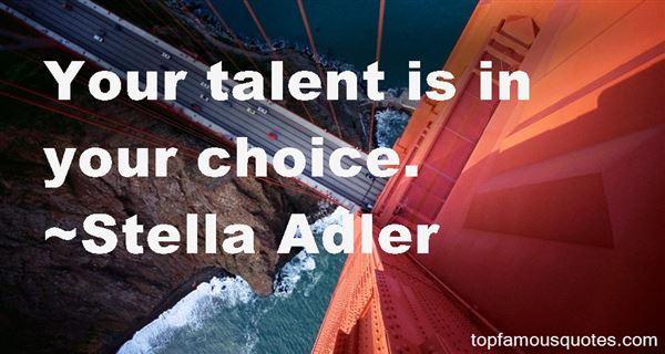 Quotes About Talent