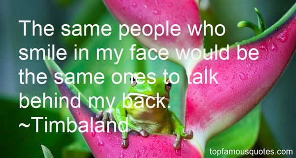 Quotes About Talk Behind My Back
