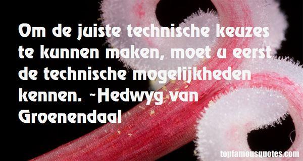 Quotes About Technisch