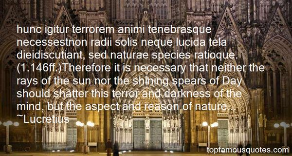 Quotes About Tenebra