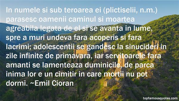 Quotes About Teroare