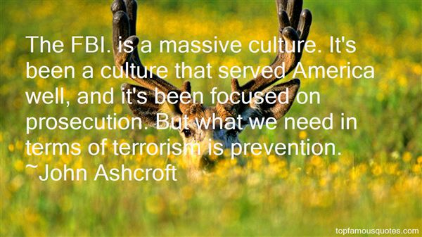 Quotes About Terrorism Prevention