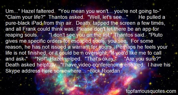 Quotes About Thantos