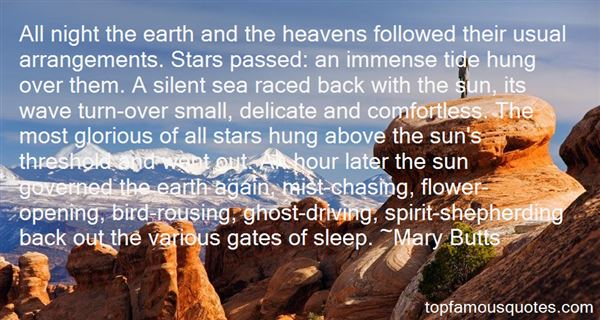 Quotes About The Heavens Opening