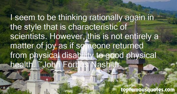 Quotes About Thinking Rationally