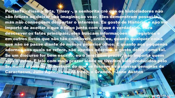 Quotes About Tilney