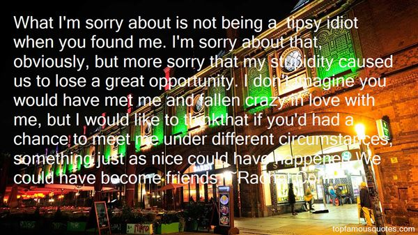 Quotes About Tipsy