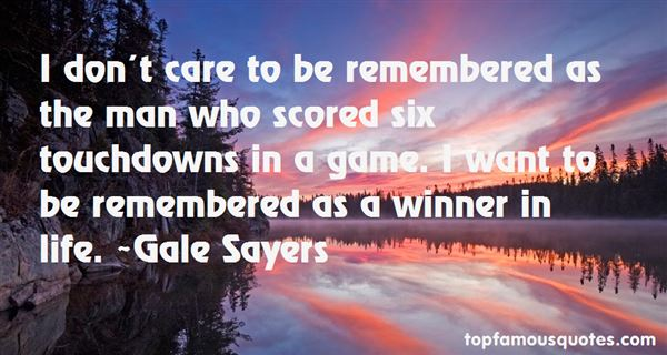 Quotes About Touchdown