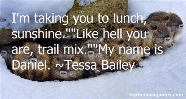 Quotes About Trail Mix