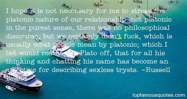 Quotes About Tryst