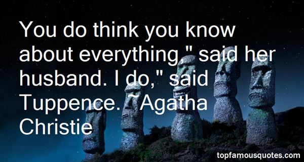 Quotes About Tuppence