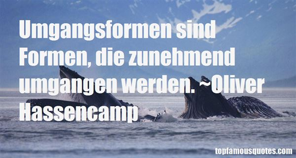Quotes About Umgangsformen
