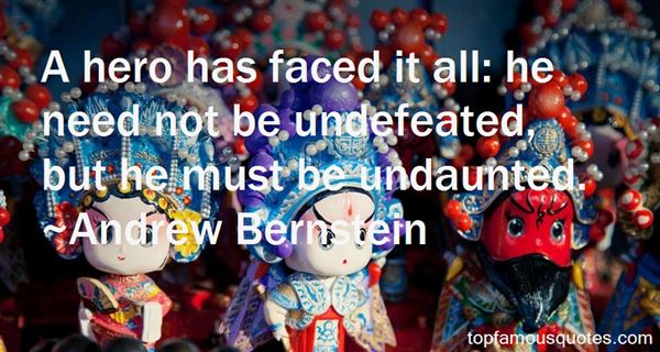 Quotes About Undefeated