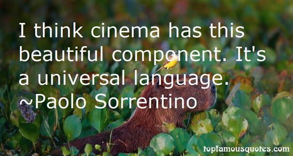 Quotes About Universal Language