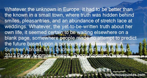 Quotes About Unknown Person