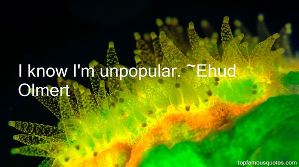 Quotes About Unpopular