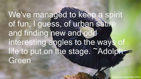 Quotes About Urban Life