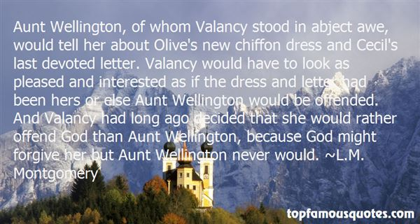Quotes About Valancy