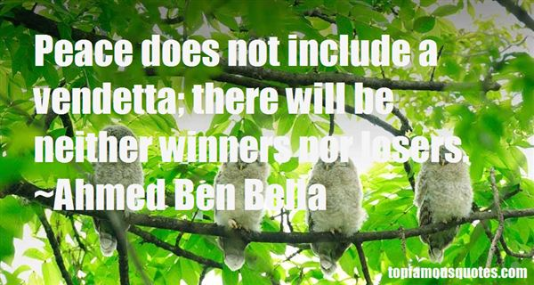 Quotes About Vendetta