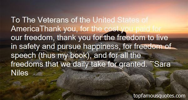 Quotes About Veterans Thank You