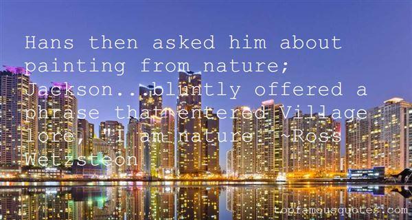 Quotes About Village Nature