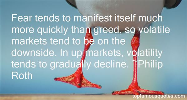 Quotes About Volatile
