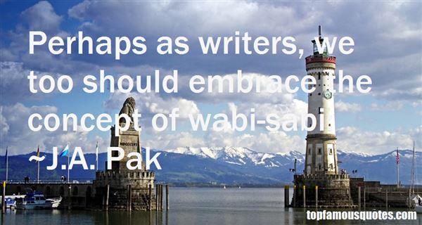 Quotes About Wabi Sabi