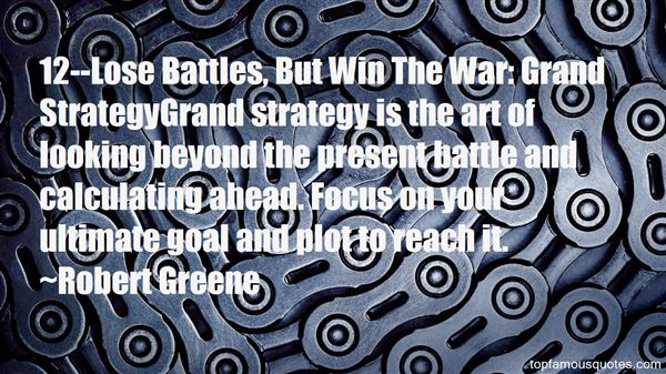 Quotes About War Strategy