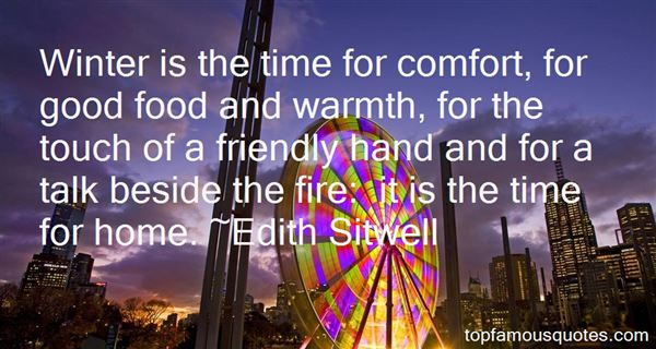 Quotes About Warmth And Home