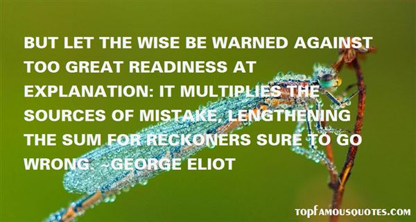 Quotes About Warn