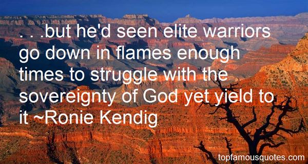 Quotes About Warriors Of God