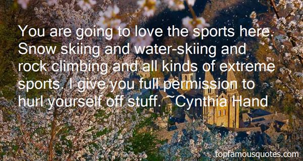 Quotes About Water Skiing