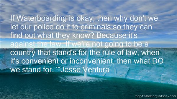 Quotes About Waterboarding